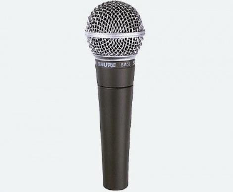 Microfono SM58 para voz en vivo Shure