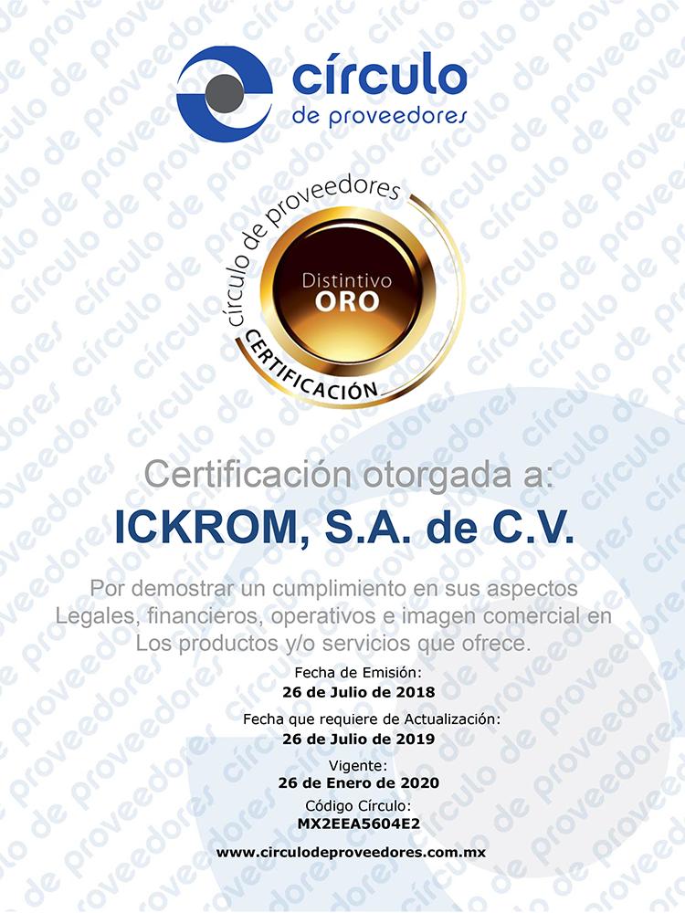 Diploma Ickrom